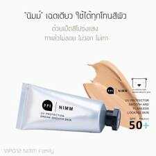 Facial sun protector SPF50 uv Nimm solar smooth and flawless looking skin