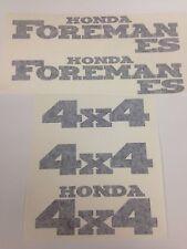 Honda Foreman 450 ES Trx450fe Sticker Decal Emblem Kit Of 5