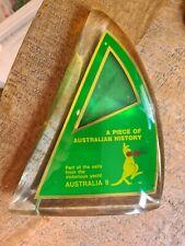 AUSTRALIA 11 YACHT AMERICA CUP RACE SAIL PIECE 1983