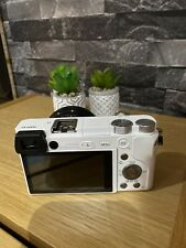Sony ILCE6000LB Alpha A6000 Mirrorless Camera with 16-50mm Lens - White
