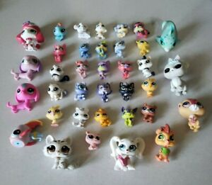 MLP My Littlest Pet Shop Small and mini figures lot of 36