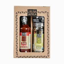 Ukuva iAfrica Zulu Fire and Lemon Pepper Gift Set