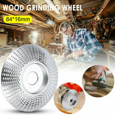 Wood Sanding Carving Tool Tungsten Carbide Angle Grinding Wheel Abrasive Disc US