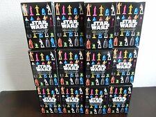 Star Wars Eraser Collection Vol.1 Figure Box 12 set Disney NEW F/S Japan