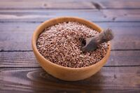 5x1 Kg Leinsamen Braun Leinsaat Lebensmittel Qualität  5000g