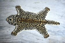Leopard Mat Hand Tufted Wool Carpet Beautiful Leopard Design Luxury Rug Mat