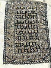 """Antique Caucasian Shirvan Rug - 3' 6"""" x 5' 2"""""""