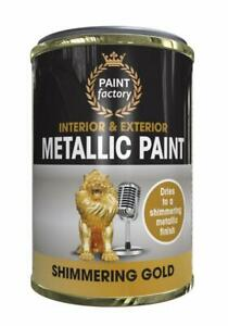 ALL PURPOSE PAINT 300ML TIN MATT/GLOSS FINISH QUICK DRYING METALLIC PLASTIC WOOD