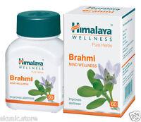 2 X Herbal Brahmi Pure Herbs Bacopa Monnieri Long Expiry 60 Tablets Ayurvedic