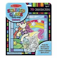 Melissa & Doug Stained Glass Made Easy Unicorn 18582 NEW