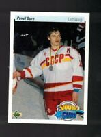 1990-91 Upper Deck Pavel Bure Young Guns Rookie RC 526