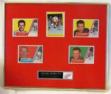 1959 Topps Gordie Howe In Action With 1963 Topps companion cards