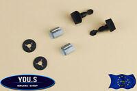 2 Set 6-Teilig Halteklammer Schrauben für VW / AUDI / SEAT Stoßstange Anhänger