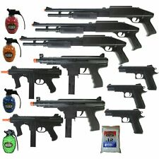 MEGA AIRSOFT PARTY PACKAGE - 10 DOA 6mm Airsoft Guns Rifles + 4200 .12g BBs