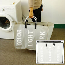 Portable 3 Layer Laundry Hamper Clothes Sorter Basket with Sturdy Hand