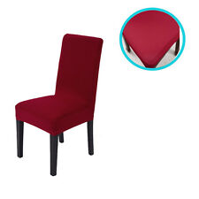 Removable Stretch Slipcovers Short Dining Room Stool Seat Chair Cover 2/4/6Pcs