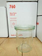 12 Stk. WECK Gläser 160 Ml Dessert Glas Deckel Einmachglas Einkochglas