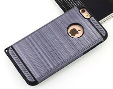 Slim Armor Shockproof Rugged Hard Case Cover Skin Brush Metal iPhone 6