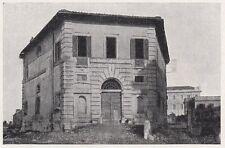 D2040 Roma - Palazzina del Cardinale de Bayane ai Parioli - Stampa - 1923 print
