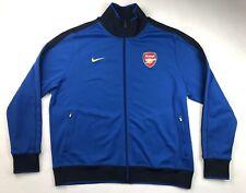 Nike Arsenal N98 Track Jacket Mens Size 2XL Soccer Football