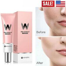 30g VENZEN W Primer Concealer Shrink Pore Primer Base MakeUp Faces Brighten US*