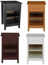 Pine 61cm-65cm Bedside Tables & Cabinets with 1 Drawer