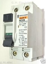 Merlin Gerin 63 Amp Rccb 30 Ma Multi 9 63bis Doble Polo Dmr 630302 2p 10ka 23093