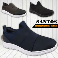 Mens Boys Slip On Shoes Casual Gym Sport School Casual Trainers 7 8 9 10 11 12