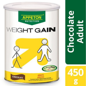 Appeton Weight Gain Adult 450g Chocolate + Free Super Ring Snack + Free Shipping