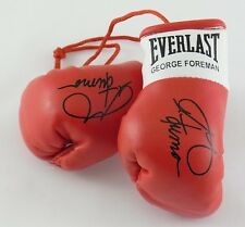 Autografiada Mini Guantes De Boxeo George Foreman