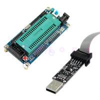 1pc ISP ATMEGA16 ATmega32 Board + USBISP 3.3V / 5V AVR Download Programmer Hot
