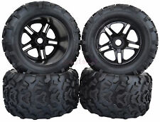 158mm Traxxas RC 1/8 Monster Truck Bigfoot Tyre Tires 17mm HEX Wheel Rim