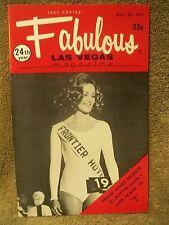 Fabulous Las Vegas Magazine Juliet Prowse Jerry Vale Tessie O'Shea 5/22/1971