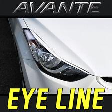 Headlight Eyelid UNPAINT For Hyundai Elantra