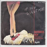 BARBARA ROY AND ECSTASY PASSION AND PAIN 45T IF YOU WANT ME - I'VE GOT YOU  RARE