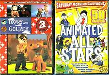 Davey and Goliath Vol. 3 & Animated All Stars, Vol. 1