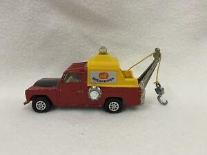 Vintage Corgi Toys Land Rover 109 WB Whizzwheels Toy Truck Breakdown