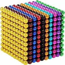 Magnetic Fidget Balls - 5mm  1000 Pcs Multi Colored - 10 Colors stocking stuffer