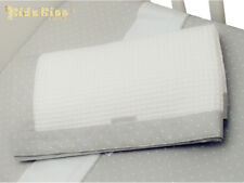 Kidz Kiss Petit Dots Reversible Cotton Cot Waffle Blanket [Grey]