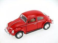 Kinsmart 1967 Volkswagen Classical Beetle (Red) 1:32 Die Cast Metal Collectable