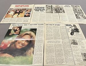55 OLIVIA NEWTON JOHN CLIPPINGS  **1978 TO RECENT**