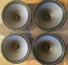 "1969 Fender Super Reverb Cts Alnico Speakers 10"" 8ohm"