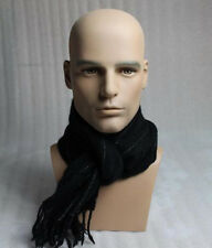 Fashion Design Realistic Male Mannequin Head for Wig And Sunglasses Display