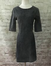 OVS Womens  Gray Garment Dyed Skater Fit & Flare Casual Dress Size L - NEW