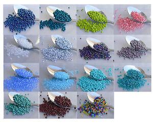 8/0 Czech Seed Beads 10-Grams UR PICK Glass Seed Beads