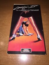 LOSIN' IT SEX AND THE AMERICAN TEENAGER 1985/1986 (VHS)