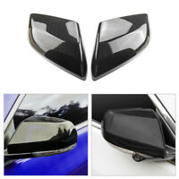Carbon Fiber Side Rearview Mirror Cover Caps Fit For Cadillac ATS-L 2014-2018