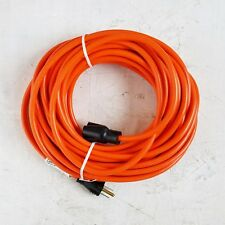 50' 16 Gauge Light Duty Orange Indoor/Outdoor Extension Cord - MADE IN USA