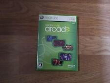 X-BOX LIVE ARCADE X-BOX 360 NTSC-J Japan Import