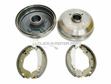 VAUXHALL CORSA C 2000-2006 REAR 2 BRAKE DRUMS & SHOES SET (WITH ABS MODELS ONLY)